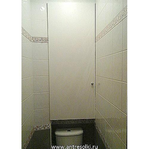 Сантехнический шкаф из ДСП (пример №18)
